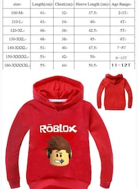 Brand new roblox hoodies  Эдмонтон, T5A