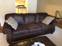 Raymour couch. Almost brand new. Only used a couple of months. Been sitting in my garage. $200 or best offer. Need to get it out. Pickup only    Ridgewood, 07450