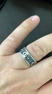 Gucci 8.20 size Sterling Silver 925 Ring North Vancouver, V7J 3M2