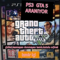 GTA 5 ORJINAL PS3 CD ARANIR !!!