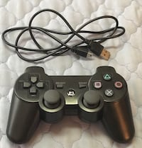 Brand NEW PS3 Wireless controller. (Excellent 3rd Party) with charging cable! 25$ Brampton, L6Y 4G6