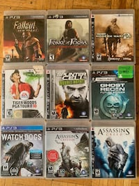 Playstation 3 games Oakville, L6H 2B5