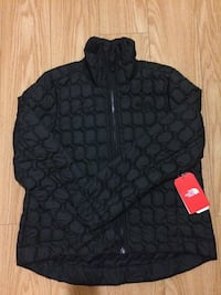 North Face Black Thermoball Crop Jacket Vancouver, V6G