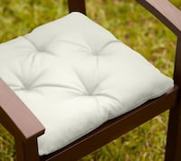 TUFTED SUNBRELLA® OUTDOOR DINING CHAIR CUSHION - SOLID Morristown