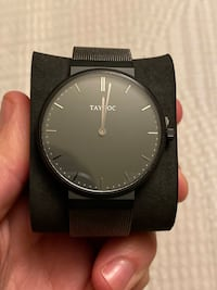 NEW IN BOX MENS ALL BLACK TAYROC WATCH Toronto