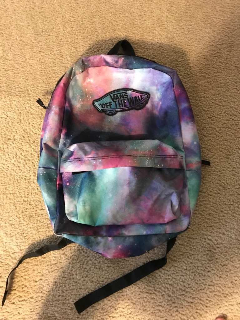 Vans Of The Wall galaxy backpack