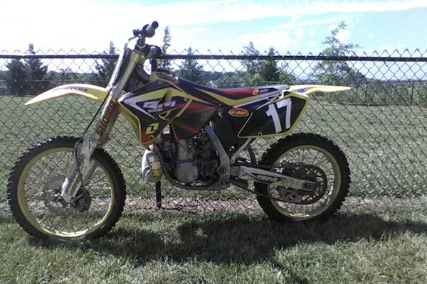 Used 2006 Ricky Carmichael Edition Dirt Bike For Sale In