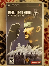 Metal Gear Solid Portable OPS Plus Federal Way, 98003