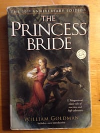 The Princess Bride by S. Morgenstern, used paperback Arlington, 22204