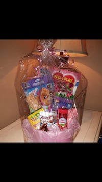 Themed Easter gift baskets