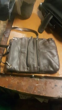 Brown leather side bag Winnipeg, R2W 2B6
