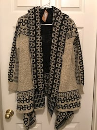 Brown and black cardigan Buford, 30519