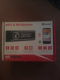 NEW UNUSED MP3 PLAYER AND RADIO RECEIVER NEW WITH REMOTE CONTROL  Centreville, 20120