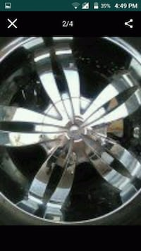 4 - 20 inch rims with goodyear tires Phoenix, 85037