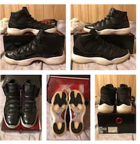 "Air Jordan Retro 11 ""72-10"" Size 12  Joliet, 60435"