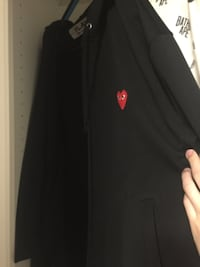 black and red Nike zip-up jacket Vancouver