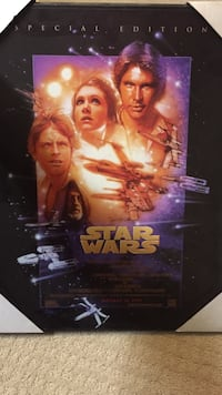 Star wars special edition movie poster Calgary, T2Z 4Y4