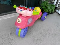toddler's pink and purple ride on toy Aspen Hill, 20906