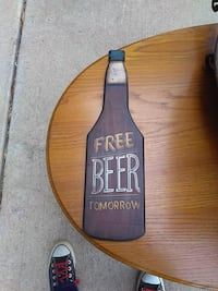 Free beer sign Round Rock, 78664