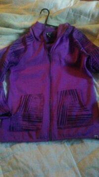 purple zip-up hoodie Sarnia, N7T