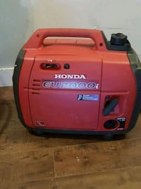 red and black Honda portable generator Peachland, V0H 1X2