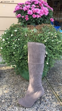Winter and fall gray knee high boots NEW Gresham, 97030