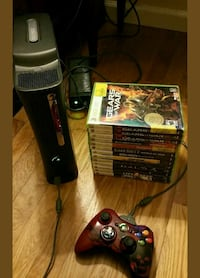 Xbox 360 elite with 17 games and 3 controllers Fairfield, 06825