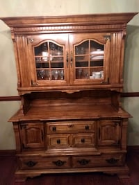 brown wooden cabinet with drawer Westerville, 43082