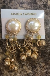 Clip on earrings $5 a pair or 3 for 10