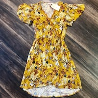 Band of Gypsies Flowy Floral Mini Dress Denver, 80204