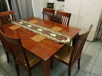 Dinning Table with 6 Chairs Richmond Hill