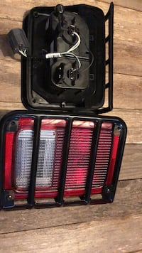 Jeep rear light includes grill protection Silver Spring