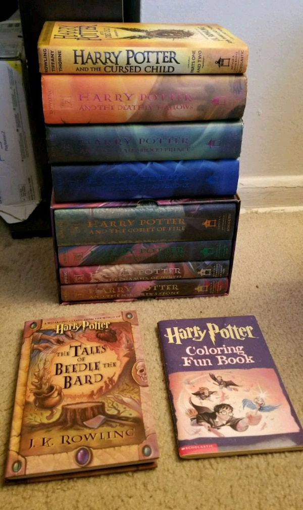Complete Hardcover Harry Potter Collection