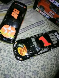 #28and#1  nascar cars. Askin  Hagerstown