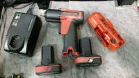 two red and black cordless power tools Laurel, 20723