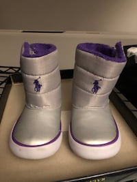 Polo girls size 7 boots Chicago, 60637
