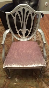 Antique silver and grey chair Surrey, V3S 4N9
