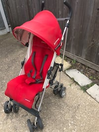 Uppababy G-Luxe Stroller (red) Oak Park