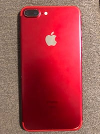 "Product ""RED"" iPhone 7plus for ATT HAS SOME WEAR AND TEAR BUT WORKS PERFECT 128GB Visalia, 93292"
