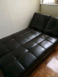 black leather tufted bed headboard Toronto, M4A 2T1