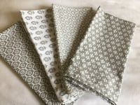 Set of (4) Cloth Napkins By Ballard Design! New!  Gulfport, 39503