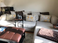 Almost New Sectional!! W/ Cushions Included  Harrison, 10528