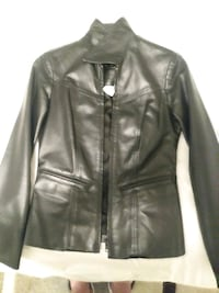 Size 0 woman's leather jacket asking for 500 OBO
