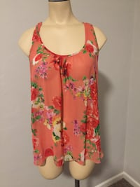 pink and white floral sleeveless top Mesa, 85202
