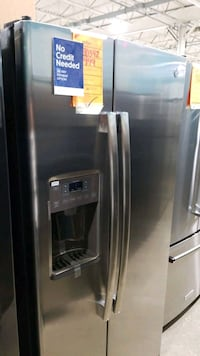 New ge side-by-side refrigerator 33x69.  Hauppauge