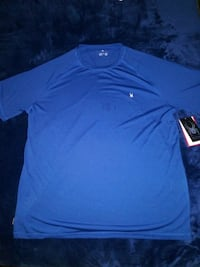 Spider athletic shirt with WIC dry size XL