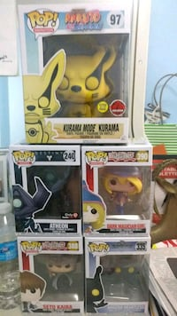 three Pop ! vinyl figures Mississauga, L5V 1W4