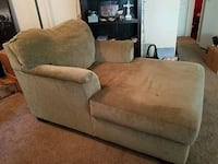brown fabric 2-seat sofa Citrus Heights, 95621