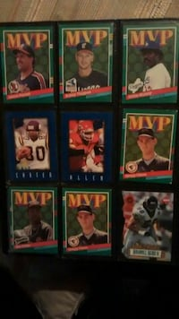 MVP American football trading cards Memphis, 38112