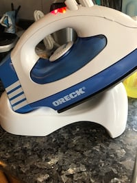 New Oreck Cord-Free Steam Iron